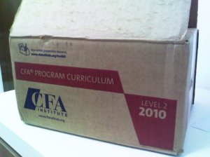 CFA Level 2 Curriculum in a Box